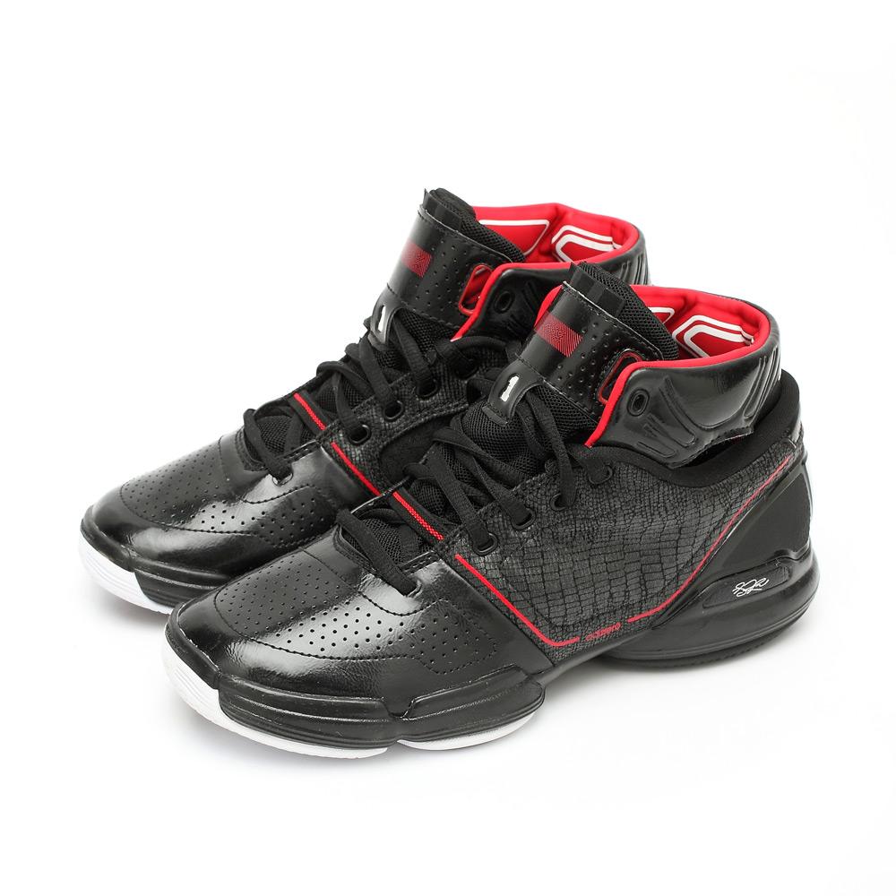 ADIDAS 阿迪达斯冬季男童黑色篮球鞋G22543 高清实拍大图页