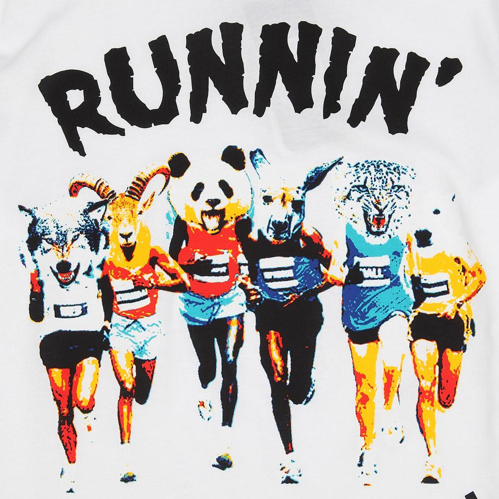 adidas阿迪达斯男子跑步针织图案t恤o13162
