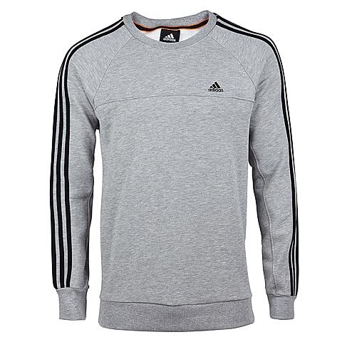 adidas阿迪达斯男子全能三条纹针织套衫X20564