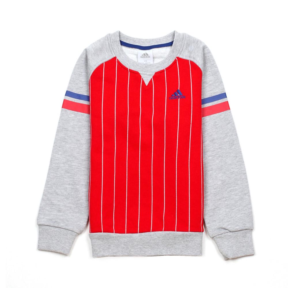 adidas/阿迪达斯童装 20 红色混搭男童套头衫 x34888