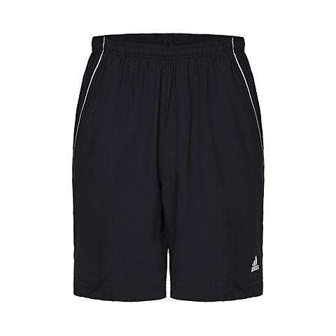 adidas阿迪达斯2017年新款男子经典网球常规梭织短裤O04785