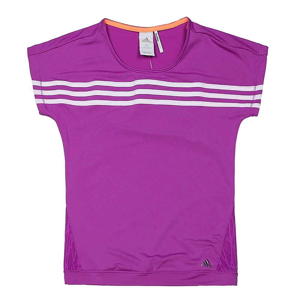 adidas/阿迪达斯童装夏季少女短袖t恤 x13405
