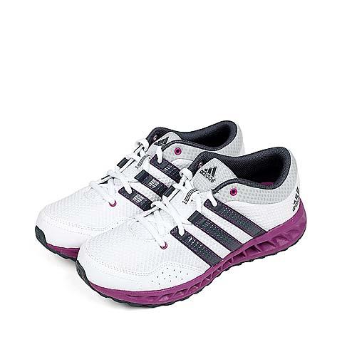 阿迪达斯新款羽绒服_【阿迪达斯adidasQ2095白色】Adidas/阿迪达斯童鞋白色网布女大童 ...