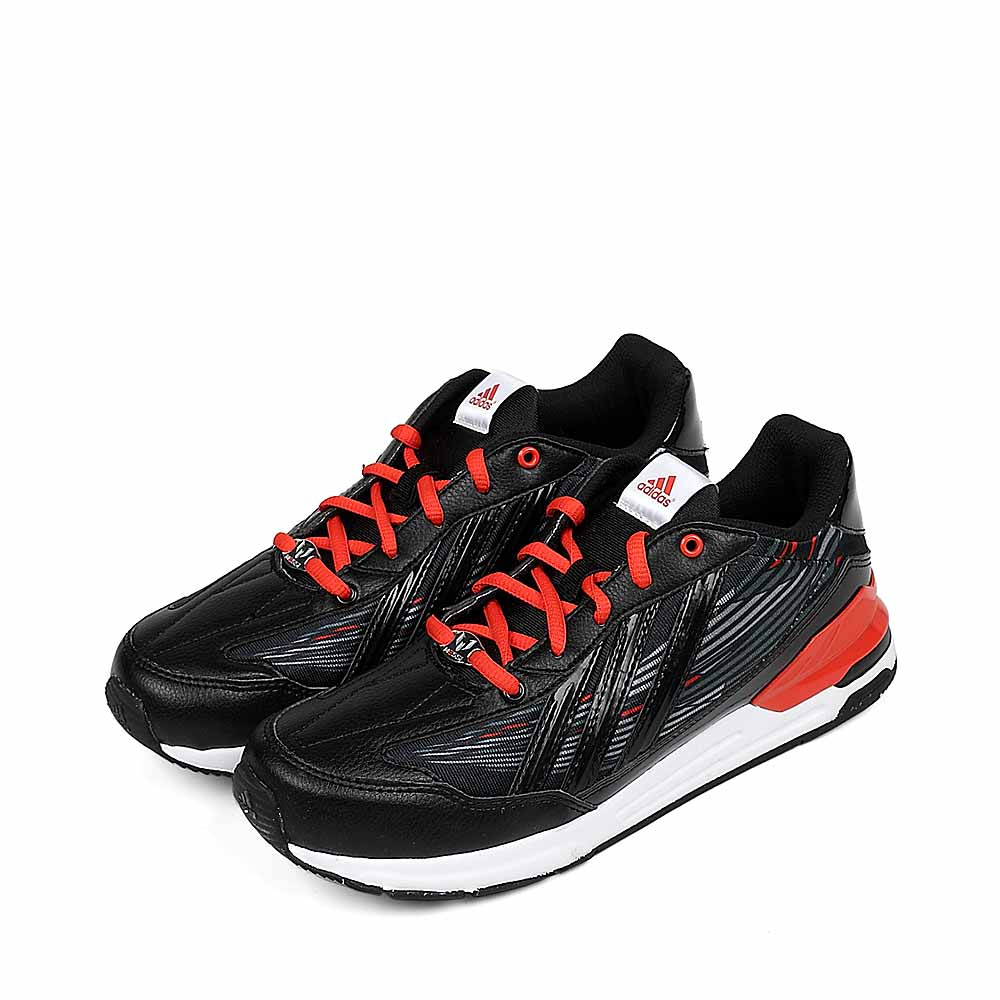 Adidas 阿迪达斯童鞋2013春季黑色人造革男大童训练鞋Q20128怎么样,好不好