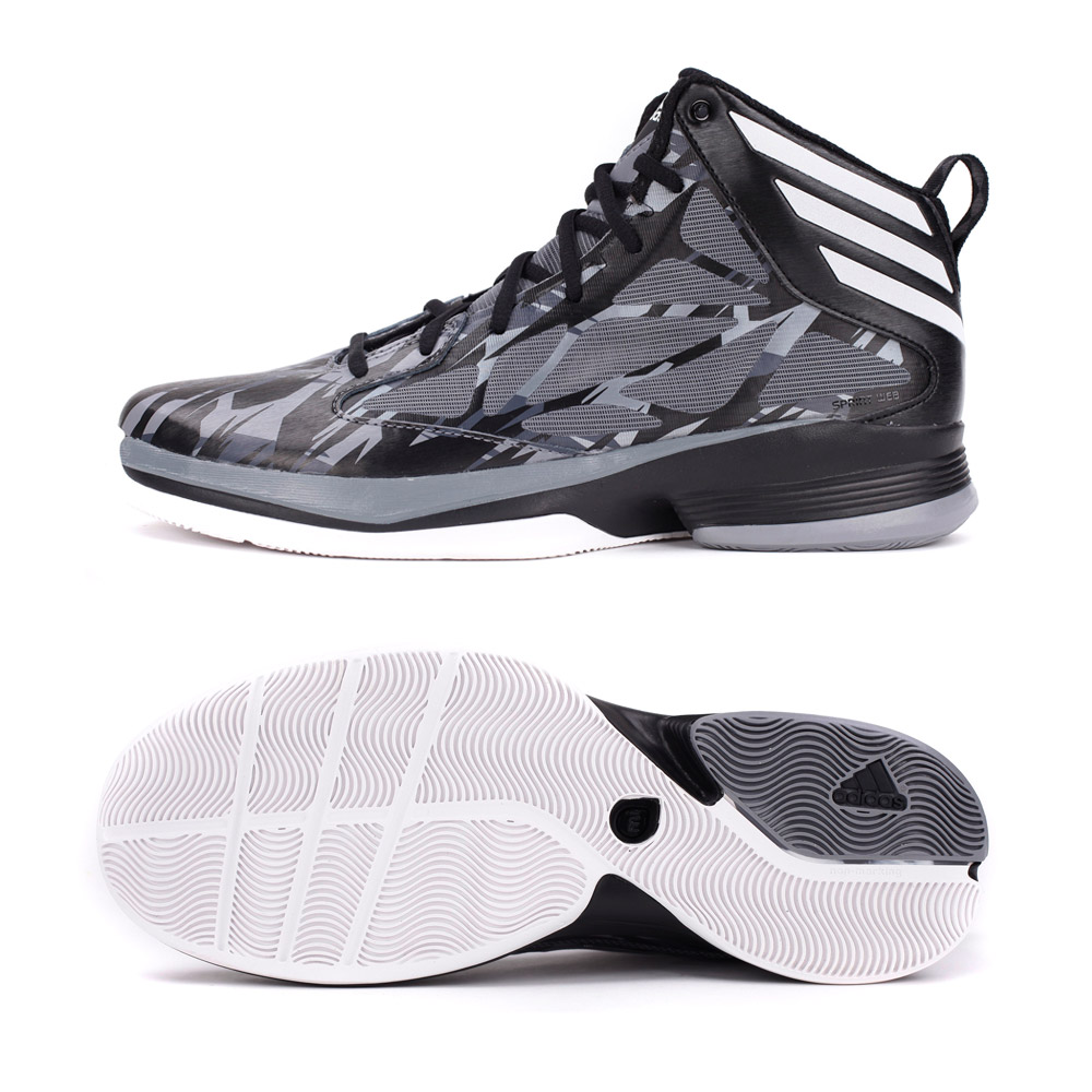 adidas阿迪达斯男子adizero系列篮球鞋g65888图片