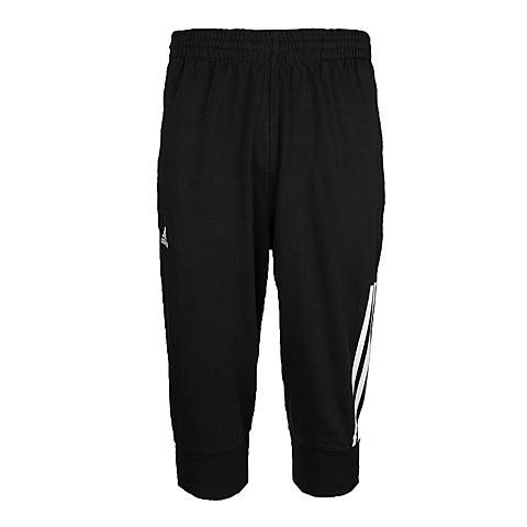 adidas阿迪达斯新款男子运动基础系列针织中裤Z32382