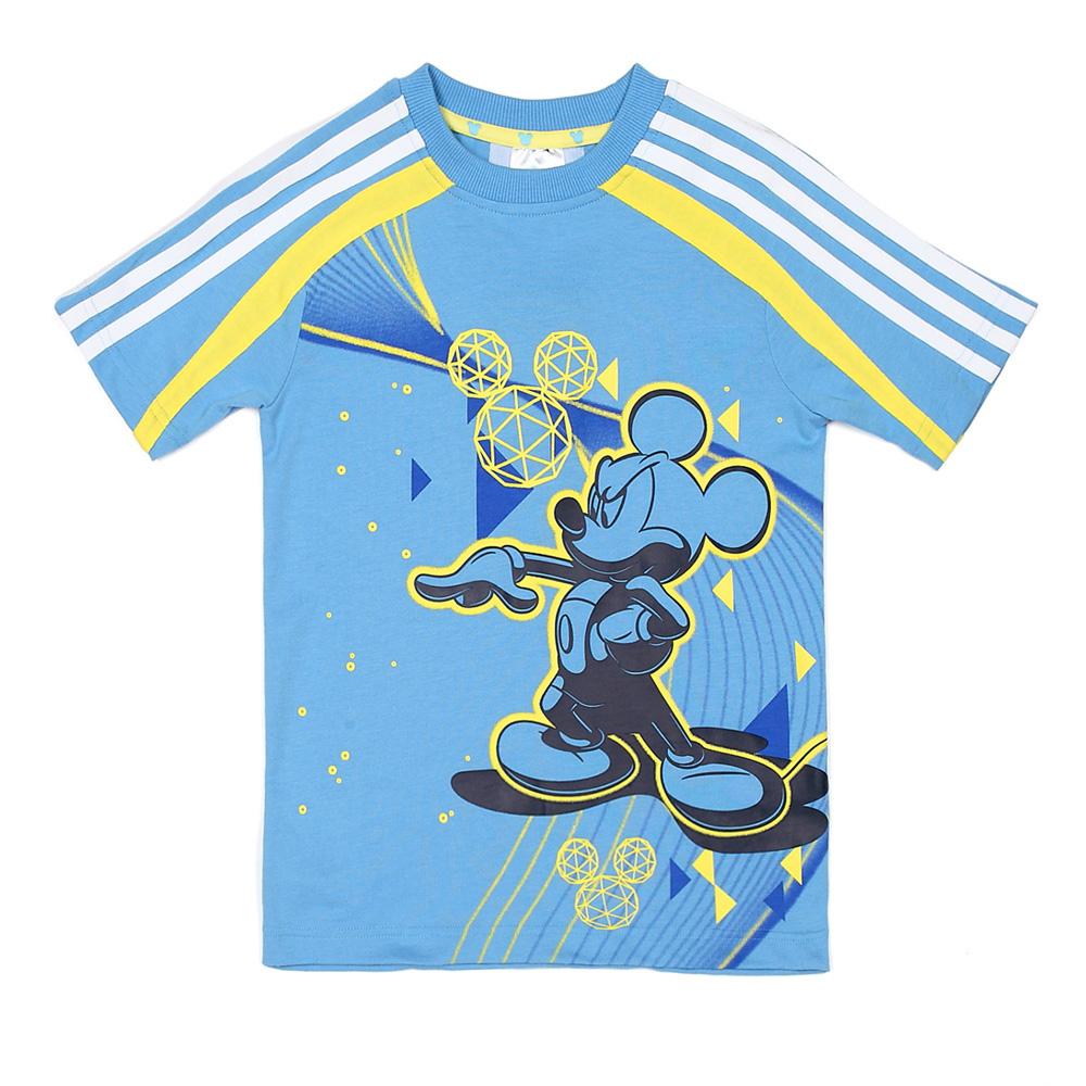 adidas/阿迪达斯童装男童短袖t恤 z32594