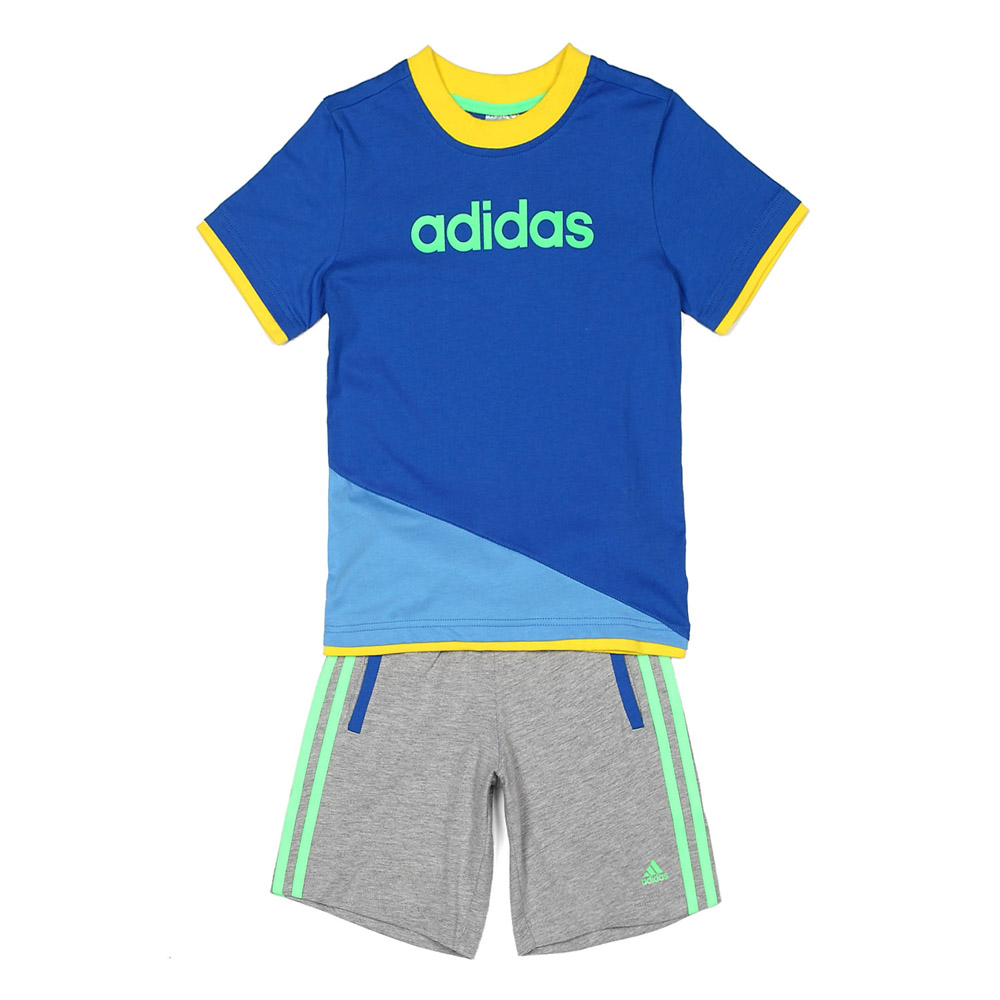 adidas/阿迪达斯童装男童针织套装 z32428