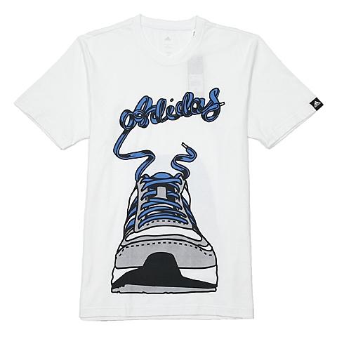 阿迪达斯新款羽绒服_【阿迪达斯adidasAA098白色】adidas阿迪达斯男子亚洲图案系列T恤G72534
