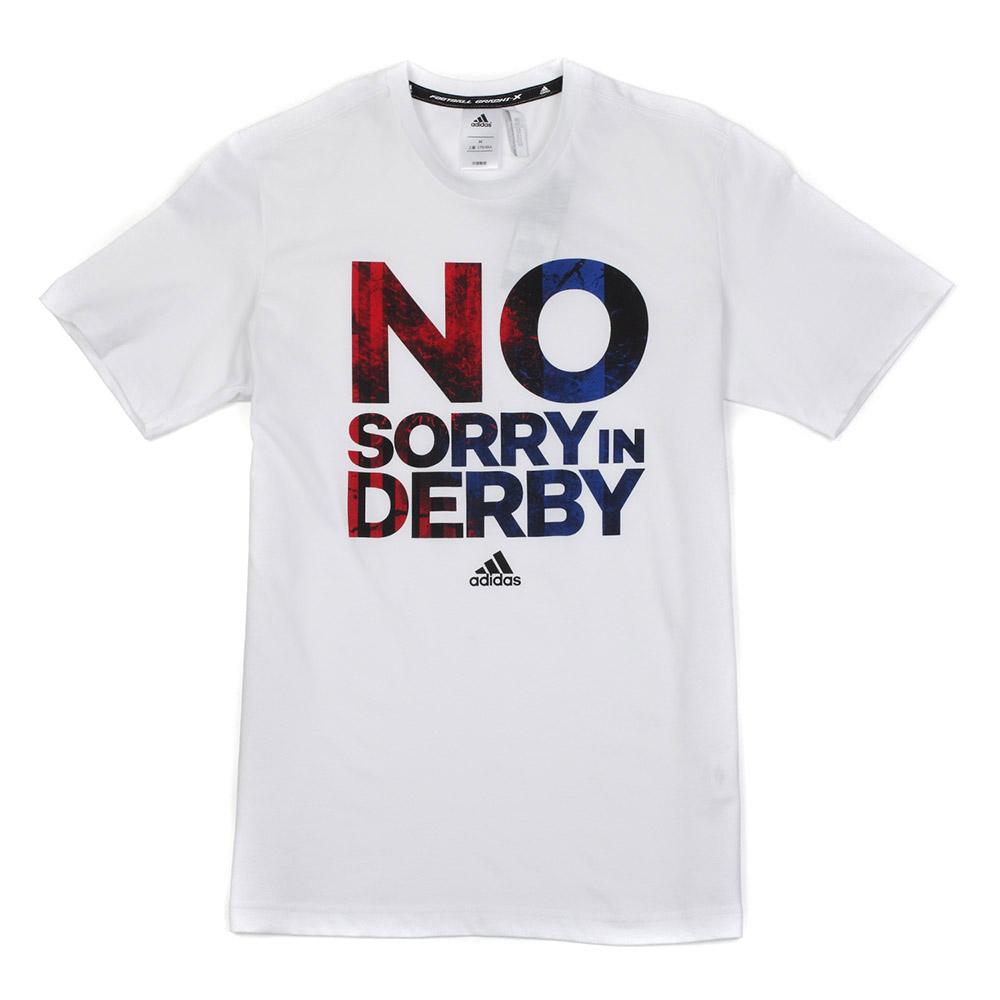 adidas阿迪达斯2014新款男子足球短袖t恤f95187