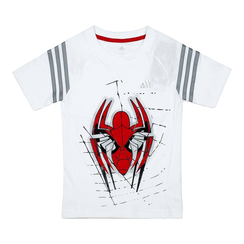 adidas/阿迪达斯童装2014年秋季新款 白色男小童短袖t恤m62959