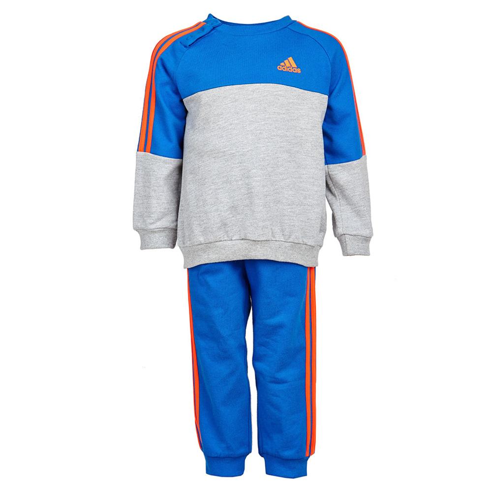 adidas/阿迪达斯2015年春季童装新品男婴童针织套装s2