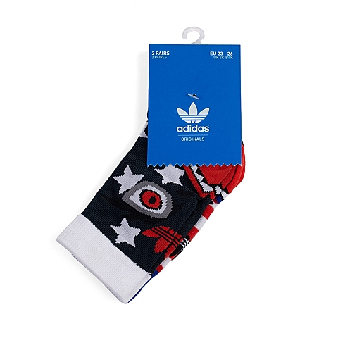 Adidas/阿迪达斯新品专柜同款儿童袜两双装S23452
