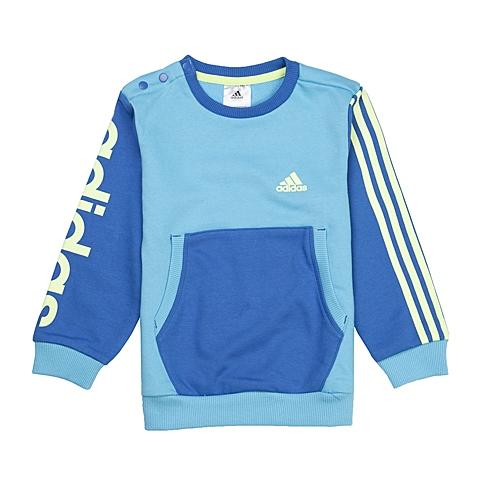 Adidas/阿迪达斯童装春季专柜同款男婴套头衫S02721