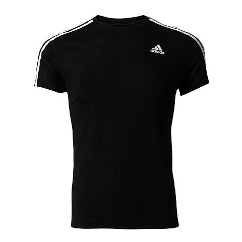 adidas阿迪达斯新款男子运动基础系列T恤S88108