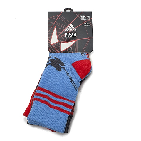 adidas阿迪达斯新款专柜同款儿童袜子(3双)S14688