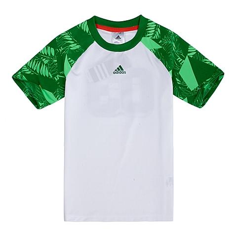 adidas阿迪达斯新款专柜同款男童酷玩一族系列短袖T恤892435