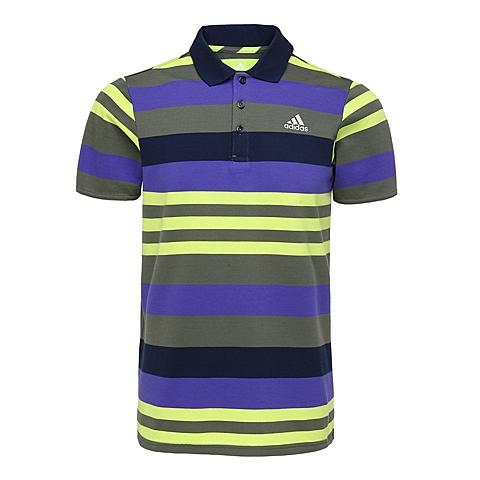 adidas阿迪达斯新款男子网球常规系列POLO衫S09652