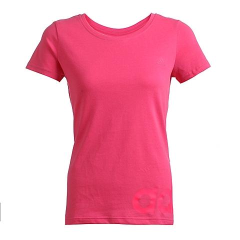 adidas阿迪达斯新款女子基础系列圆领短袖T恤S20904