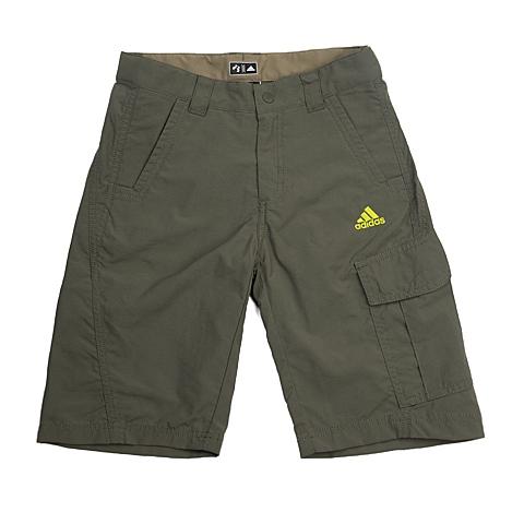 adidas阿迪达斯新款专柜同款男大童户外系列梭织短裤S10275