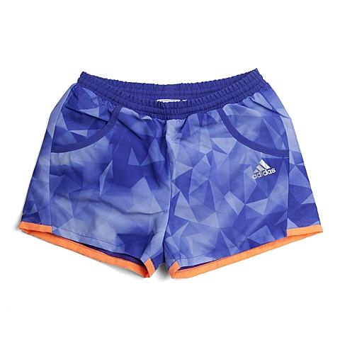 adidas阿迪达斯新款专柜同款女童CLIMA系列梭织短裤S22096