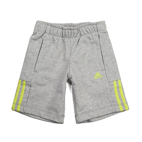 adidas阿迪达斯新款专柜同款男童基础系列针织短裤S23282