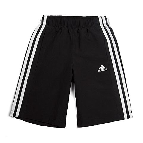 adidas阿迪达斯新款专柜同款男大童基础系列梭织短裤S23311