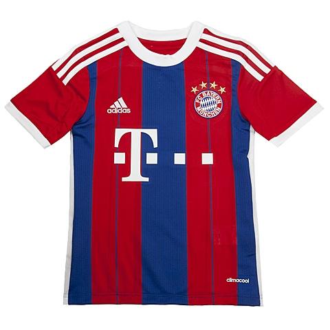 adidas阿迪达斯新款专柜同款男大童足球俱乐部系列T恤F48504