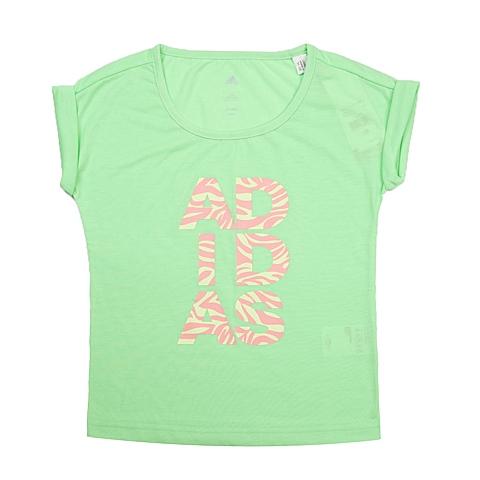 adidas阿迪达斯新款专柜同款女童WARDROBE系列T恤S16694