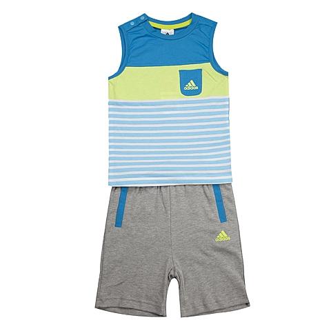 adidas阿迪达斯新款专柜同款男婴童时尚单品系列套服892011