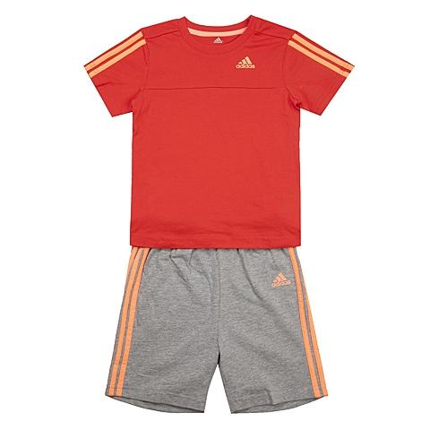 adidas阿迪达斯新款专柜同款女婴童基础套装系列套服S21393