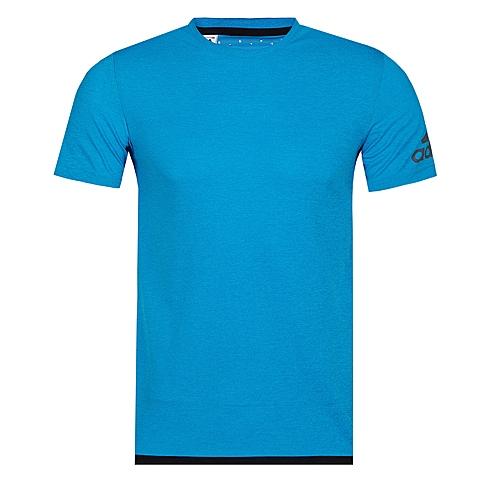 adidas阿迪达斯新款男子科技三条纹T恤S26998