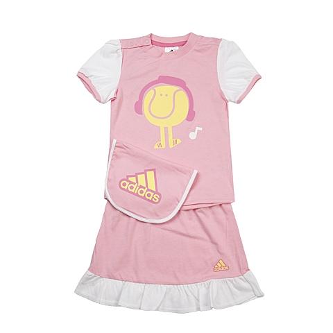 adidas阿迪达斯新款专柜同款女童针织套服892014