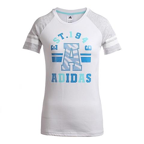 adidas阿迪达斯新款女子都市生活系列T恤A96850