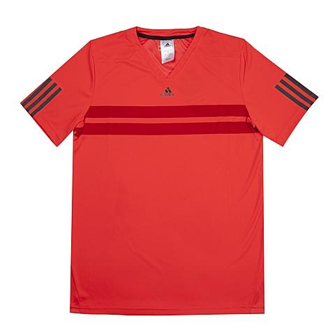 adida阿迪达斯新款专柜同款大男童Tennis系列短袖T恤S15828
