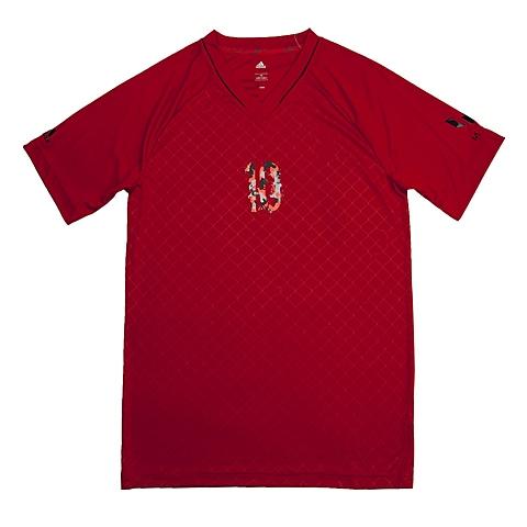 adida阿迪达斯新款专柜同款大男童梅西系列短袖T恤S30366