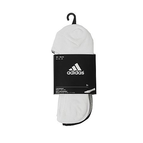 adidas阿迪达斯2017年新款中性低跟袜(3双)AA2303