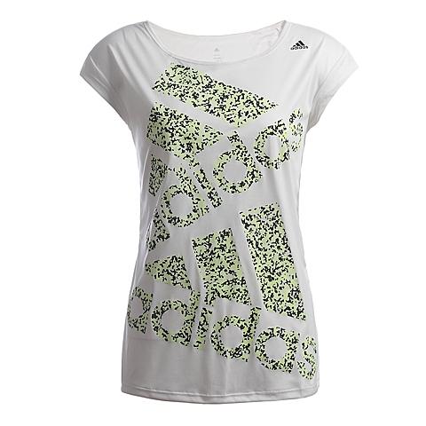 adidas阿迪达斯新款女子图案系列短袖T恤AB0100