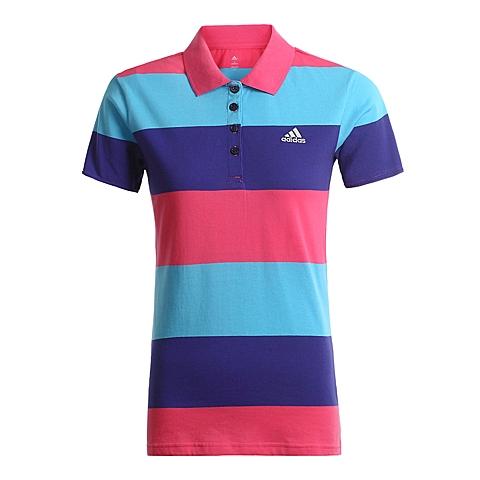 adidas阿迪达斯新款女子网球基础POLO衫AB7312