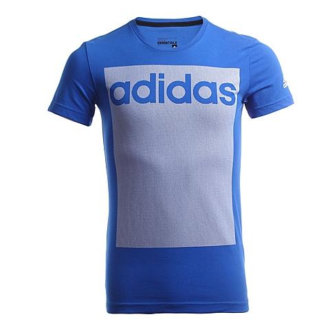 adidas阿迪达斯新款男子运动全能系列短袖T恤AB9195
