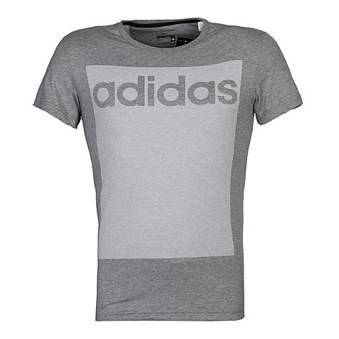 adidas阿迪达斯新款男子运动全能系列T恤AB9193