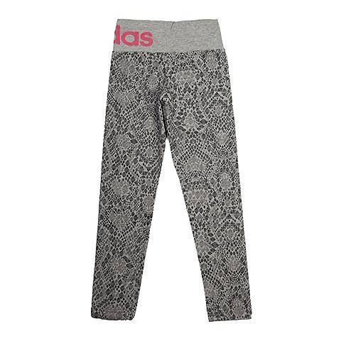 adidas阿迪达斯新款专柜同款大童女打底裤AB4502