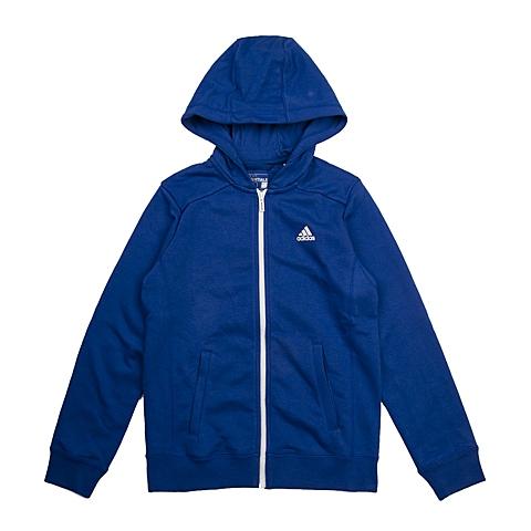 adidas阿迪达斯新款专柜同款大童男针织茄克AB5733