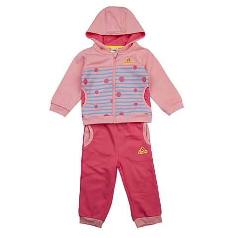 adidas阿迪达斯新款专柜同款女婴长袖套服AB4266