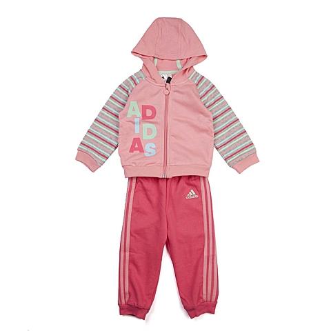 adidas阿迪达斯新款专柜同款女婴长袖套服AB6966