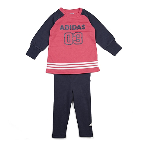 adidas阿迪达斯新款专柜同款女婴长袖套服AB6971