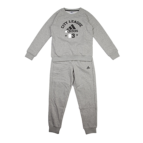 adidas阿迪达斯新款专柜同款大童男长袖套服AB5222