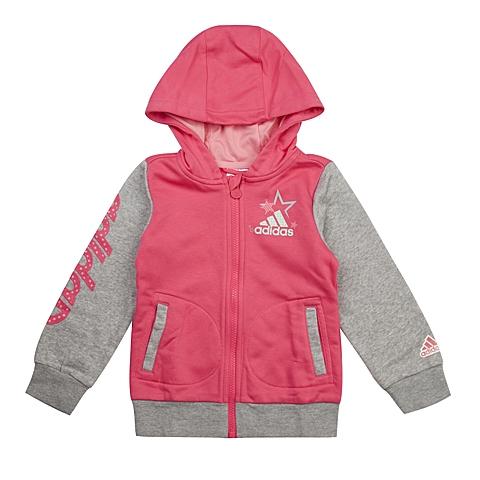 adidas阿迪达斯新款专柜同款小童女针织茄克AB4294