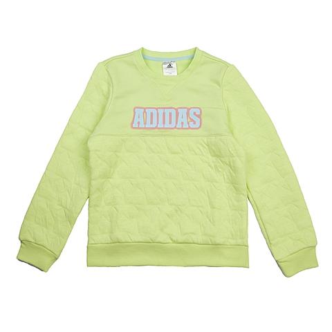adidas阿迪达斯新款专柜同款大童女套头衫AB4310
