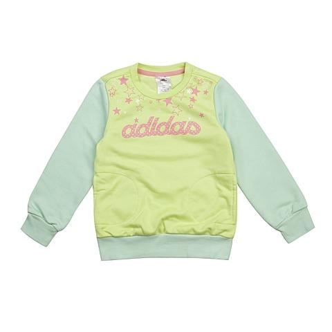 adidas阿迪达斯新款专柜同款小童女套头衫AB4292